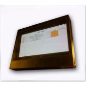 "65""-72"" LCD TV / Plasma Monitor / Digital Signage Display Enclosure, Gray"