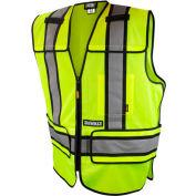DeWalt® DSV421-4X/6X ANSI Class 2 Adjustable Breakaway Vest 4X/6X