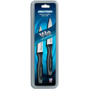 """Dexter Russell 29493 - 2 Pack Scalloped Paring Knives, High Carbon Steel, Stamped, 3-1/2""""L"""
