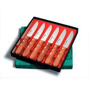 "Dexter Russell 31560 - Steak Knife Set, 6 Piece, Jumbo Style, Stamped, 6""L"