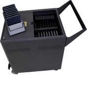 "Security Cart for 32 iPad® Mini / 7"" Tablet Devices, Syncs & Charges"