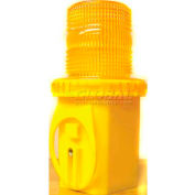 Dicke Safety UniLamp™ 6V Flashing, Amber Lens, with Photocell, UCW6S