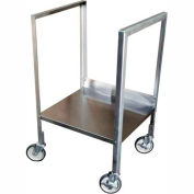 Mobile Stand for Stainless Steel Shop Desk