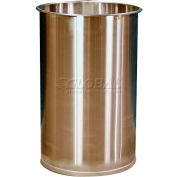 DC Tech 55 Gallon Open Head Stainless Steel Drum without Lid DM101001
