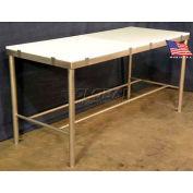 "DC Tech 72""L x 36""W Heavy Duty Cutting Board Table"