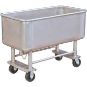 DC Tech Elevated Deck Stainless Steel Bulk Truck TKS05003 500 Lb. Capacity