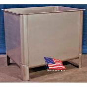 """DC Tech VT101004 Stainless Steel Vat 2000 Lb Cap, 51""""L x 39-1/2""""W x 43""""H"""