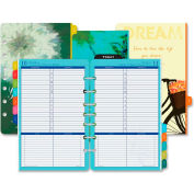 """Day-Timer® Flavia Planner Refill 8-5/8"""" x 5-1/2"""" x 1"""" White"""