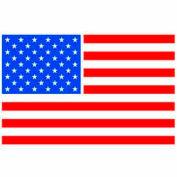"""Flag 2"""" x 3"""" - White / Red / Blue"""
