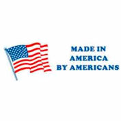 """Made In America By 2"""" x 6"""" - White / Red / Blue"""