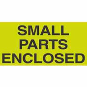 "Small Parts Enclosed 3"" x 5"" - Fluorescent Green / Black"