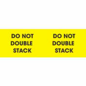 "Don't Double Stack 3"" x 10"" - Bright Yellow / Black"