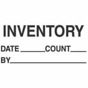 "Inventory Date 3"" x 5"" - White / Black"