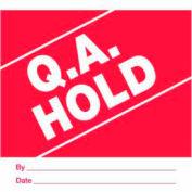 "Qa Hold 4"" x 4"" - Red / White"
