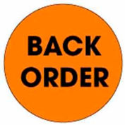 "Backorder 2"" Dia. - Fluorescent Orange / Black"