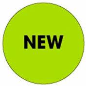 "New 2"" Dia. - Fluorescent Green / Black"