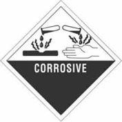 "Corrosive 4"" x 4"" - White /Black"