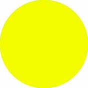 """Bright Yellow 4"""" Dia. Discs"""