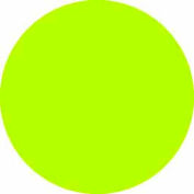 "Fluorescent Green 4"" Dia. Discs"