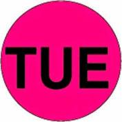 "Tue 2"" Dia. - Fluorescent Pink / Black"