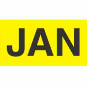 "Jan 2"" x 3"" - Bright Yellow / Black"