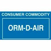 """ORM-D-AIR 2-1/4"""" x 1-3/8"""" - Blue / White"""
