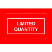 """Limited Quantity 2-1/4"""" x 1-3/8"""" - Red / White"""