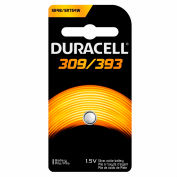 Duracell® D309/393B Coin Button Battery
