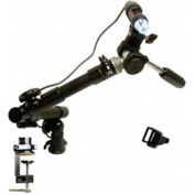 Dino-Lite MS52B Flexible Arm Top Swivel Stand with Top Clamp-on