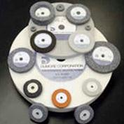 Dumore 774-0065 Grinding Wheel, 2-1/2X3/8X.375, 46 Grit, Code 1, Blue