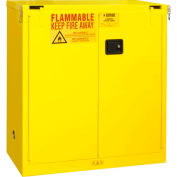 Flammable Safety Cabinet 1030S-50 - With Self Close Door 30 Gallon