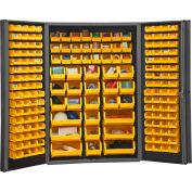 """Durham Storage Bin Cabinet DC48-176-95 - 176 Hook-on Bins 48"""" x 24"""" x 72"""""""