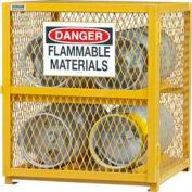 Durham Horizontal Gas Cylinder Storage Cabinet EGCC4-50 - Holds Four 20 Lb or 33.5 Lb LPG Cylinders