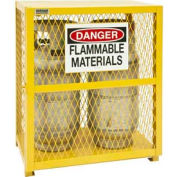 Vertical Gas Cylinder Storage Cabinet EGCVC2-50 - Holds 2 20 Lb or 33. 5Lb LPG Cylinders