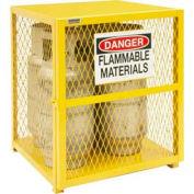 Durham Vertical Gas Cylinder Storage Cabinet EGCVC4-50 - Holds 4 20 Lb or 33.5 Lb LPG Cylinders