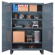 """Durham Heavy Duty Storage Cabinet HDC-203678-4S95 -  12 Gauge 36""""W x 20""""D x 78""""H"""