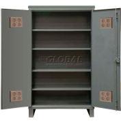 """Durham Heavy Duty Outdoor Shelf Cabinet HDCO244878-4S95 - 12 Gauge 48""""W x 24""""D x 78""""H"""