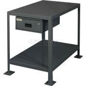 "Durham MTD182424-2K195 24""W X 18""D X 24""H Machine table with drawer"