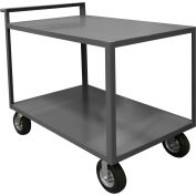 Durham Mfg.® Stock Cart RSCR-3048-ALD-95 with Raised Handle - All Lips Down 1200 Lb. Cap.