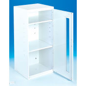 "Durham Spill Control Respirator Cabinet 052-43-Plexiglass Window Door-13-3/4""Wx12-3/4""Dx30""H"