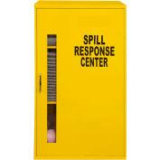 "Durham Spill Control Respirator Cabinet 057-50 - 19-7/8""W x 14-1/4""D x 32-3/4""H, Yellow"