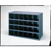 "Durham Steel Parts Bin 356-95 - 24 Openings 12"" Deep"