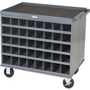 Two-Sided Cart - 80 Compartments