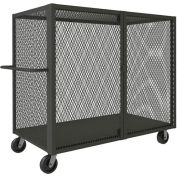 Durham Mfg® Clearview Mesh Security Truck HTL-3672-DD-95 72-1/2x38-1/16