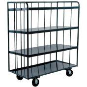 Durham Mfg® Three-Sided Shelf Truck OPT-4224-95 42x24