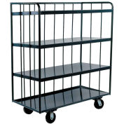 Durham Mfg® Three-Sided Shelf Truck OPT-6030-95 60x30
