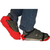 PAWS Spaghetti-Loop Strap-on Traction Soles, Men's, Red, One Size, 1 Pair