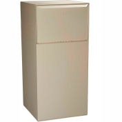 dVault Deposit Vault Mailbox and Parcel Drop DVCS0020 - Free Standing - Rear Access - Sand