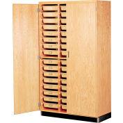 "Tote Tray Storage Cabinet 48""L x 22""W"