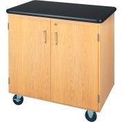 "Mobile Storage Cabinet 36""L x 24""W - Plastic Laminate Top"
